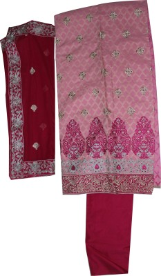 Berachahcollection Cotton Embroidered Salwar Suit Dupatta Material