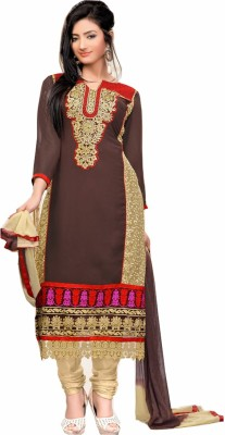 Zavia Georgette Embroidered Dress/Top Material