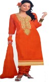 Mayur Cotton Polyester Blend Embroidered...