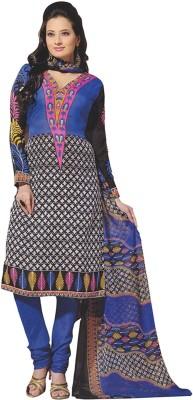 Mitra Synthetic Printed Salwar Suit Dupatta Material