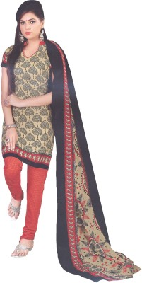 Amin Cotton Polyester Blend, Polyester, Chiffon Printed Salwar Suit Dupatta Material