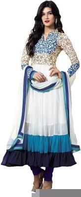 HarikrishnaTrading Georgette Embroidered Salwar Suit Dupatta Material