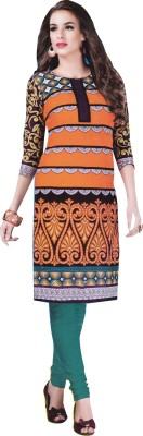 KAUR COLLECTIONS Cotton Printed Kurti Fabric