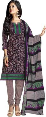 Bhimnath Cotton Floral Print Salwar Suit Dupatta Material