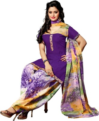 Desi Look Cotton Printed Salwar Suit Dupatta Material