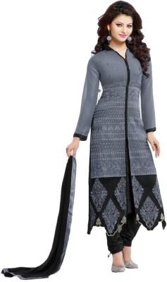 7colors Georgette Self Design Salwar Suit Dupatta Material