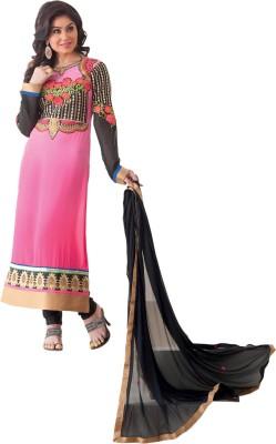 Dlines Chiffon Embroidered Salwar Suit Dupatta Material