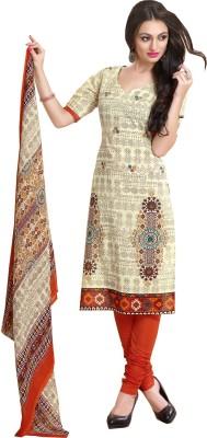 Vogue Era Cotton Printed Dress/Top Material