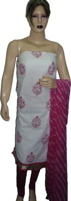 Stutee Cotton Floral Print Salwar Suit Dupatta Material