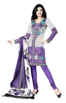 Saran Cotton Floral Print Salwar Suit Dupatta Material