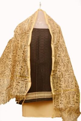 Manishas Creations Cotton Printed Salwar Suit Dupatta Material