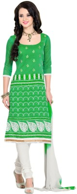 Parishi Fashion Chanderi Printed Dress/Top Material
