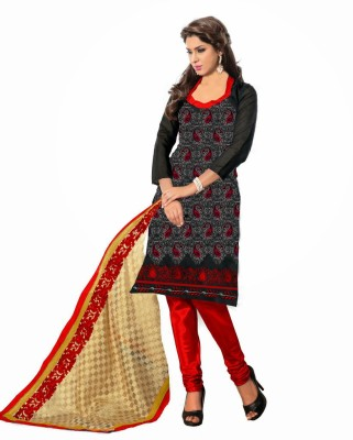 Madhur Cotton Embroidered Salwar Suit Dupatta Material