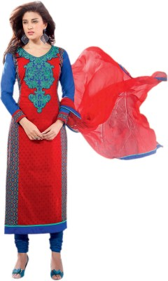 Hypnotex Cotton Self Design Salwar Suit Dupatta Material