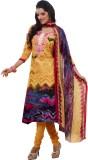 Kanheyas Cotton Graphic Print Salwar Sui...