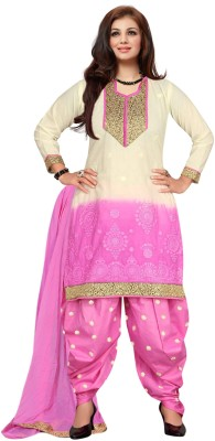 Vibes Cotton Embroidered Salwar Suit Dupatta Material