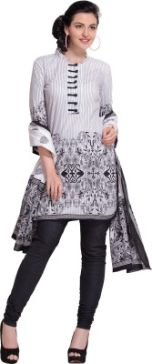 EthnicVibe Cotton Printed Salwar Suit Dupatta Material