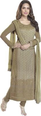 Bhelpuri Georgette Embroidered Dress/Top Material