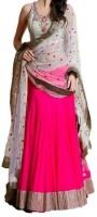 Nyalkaran Chaniya, Ghagra Cholis - Nyalkaran Self Design Women's Lehenga Choli(Stitched)