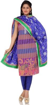 Chhabra 555 Chanderi Self Design Dress/Top Material