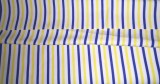 Ud Febric Cotton Polyester Blend Striped...