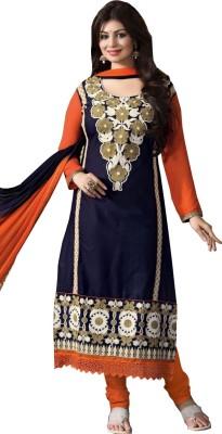 NANCYFASHION. Cotton Embroidered Salwar Suit Dupatta Material