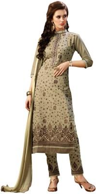 We Desi Cotton Self Design Semi-stitched Salwar Suit Dupatta Material