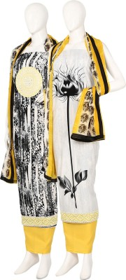 Najma Cotton Embroidered Salwar Suit Dupatta Material