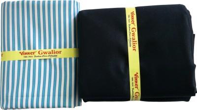Vinner Cotton Polyester Blend Striped Shirt & Trouser Fabric