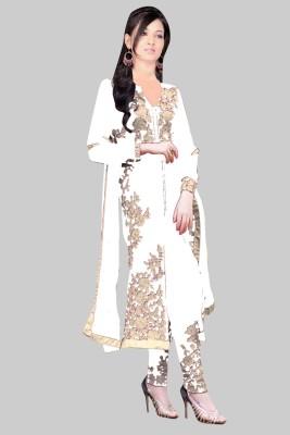 BollyLounge Embroidered Kurti & Salwar