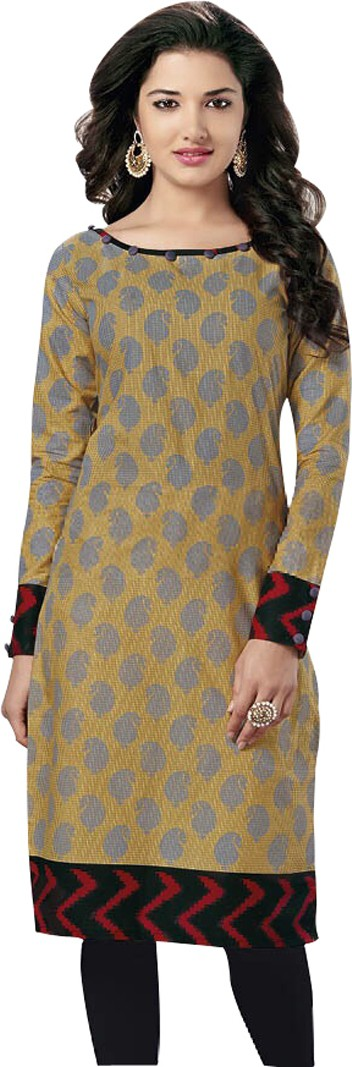Wholesale Surat Cotton Printed Kurti Fabric(Un-stitched)