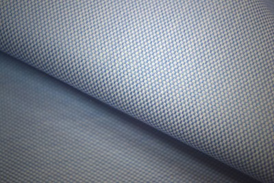 Manish Enterprises Cotton Polyester Blend Checkered Shirt Fabric