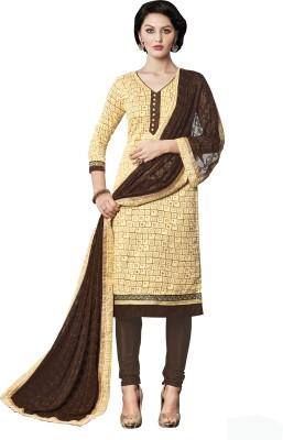 Khushali Silk Self Design Salwar Suit Dupatta Material