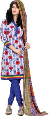 Hitansh Jacquard Printed Salwar Suit Dupatta Material