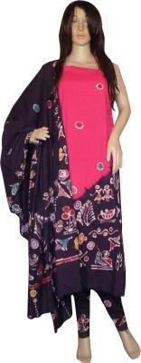 KheyaliBoutique Cotton Graphic Print Salwar Suit Dupatta Material