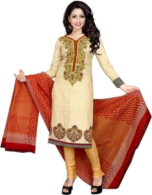 Dealsure Cotton Printed Salwar Suit Dupatta Material