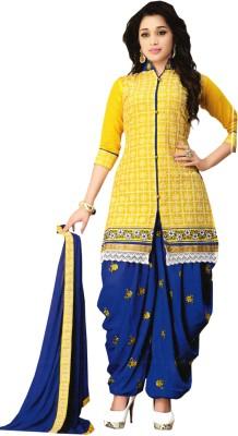 SGC Cotton Embroidered Salwar Suit Dupatta Material