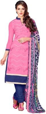 Pehnaari Chanderi Embroidered Salwar Suit Dupatta Material
