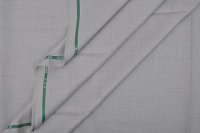 Raymond Home Cotton Polyester Blend Self Design Trouser Fabric