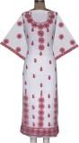 Ada Georgette Embroidered Kurti Fabric (...