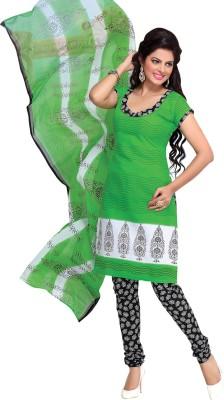 Suali Cotton Printed Salwar Suit Dupatta Material(Un-stitched) at flipkart