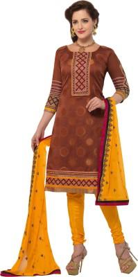 BanoRani Jacquard Embroidered Dress/Top Material