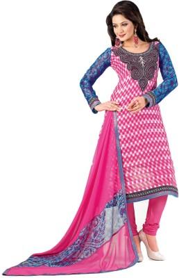 Vishal Chiffon Self Design Salwar Suit Dupatta Material