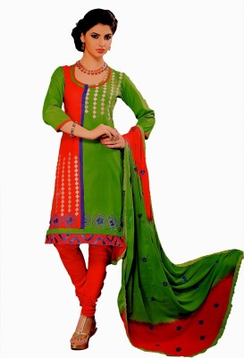 Freshboss Synthetic Solid Salwar Suit Dupatta Material