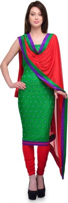 Sspk Cotton Self Design Salwar Suit Dupatta Material