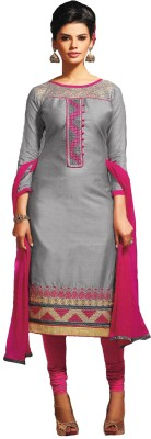 Banjaraindia Cotton Embroidered Salwar Suit Material