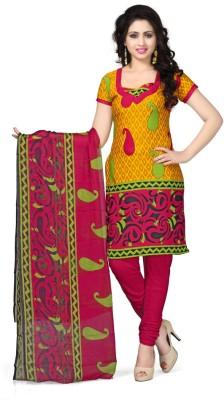 Luxuria Crepe Printed Salwar Suit Dupatta Material