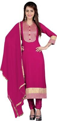 BanoRani Georgette Self Design Salwar Suit Dupatta Material