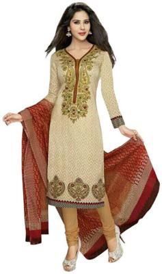Shree Ganesh Cotton Printed Salwar Suit Dupatta Material(Un-stitched)