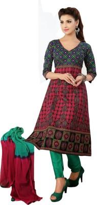 Royalisha Cotton Printed Salwar Suit Dupatta Material